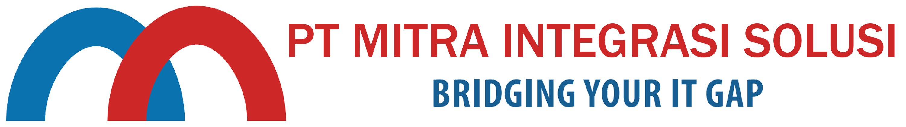 Logo - PT Mitra Integrasi Solusi - Bridging Your IT Gap